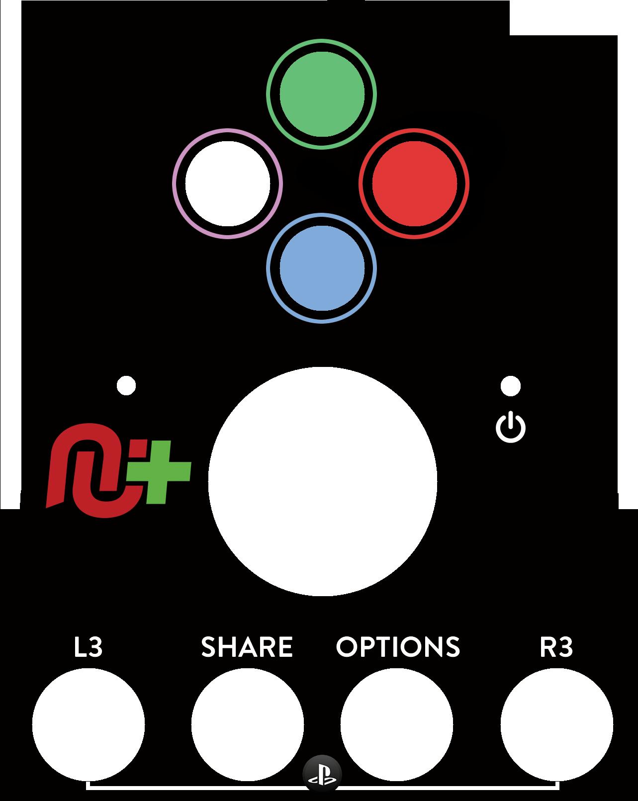 Logitech G27 Button Layout