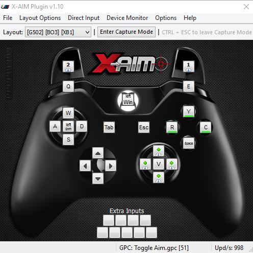 XBOX ONE Logitech G502 - Black Ops III - XBOX ONE