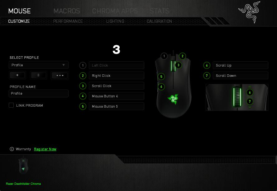 PS4 Razer DeathAdder - Overwatch - PLAYSTATION 4